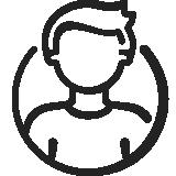 Testimonial Icon männlich